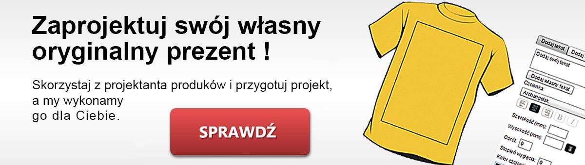 Zaprojektuj własny prezent lub upominek w sklepie Pamiatki.pl