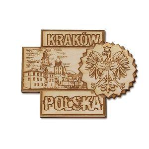 Magnes Drewniany Wawel