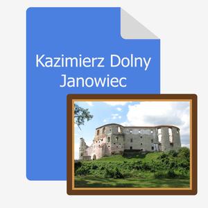 wertus pamiatki katalog pamiatek z kazimierza dolnego janowiec