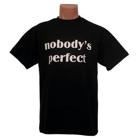 koszulka nobody 39 s perfect koszulki. Black Bedroom Furniture Sets. Home Design Ideas